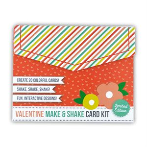 Picture of Valentine Make & Shake Card Kit